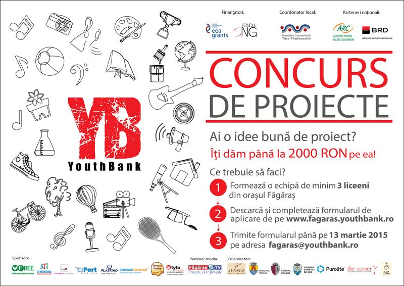 Rezultatele selecției de proiecte făcute de membrii YouthBank