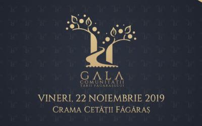 Încep înscrierile pentru nominalizări la  Gala Comunității Țării Făgărașului 2019