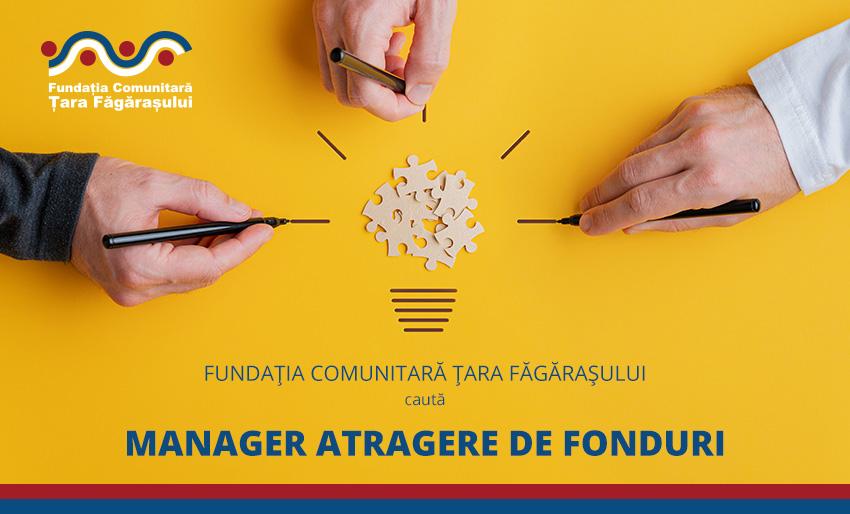 Fundaţia Comunitară Ţara Făgăraşului caută Manager atragere de fonduri