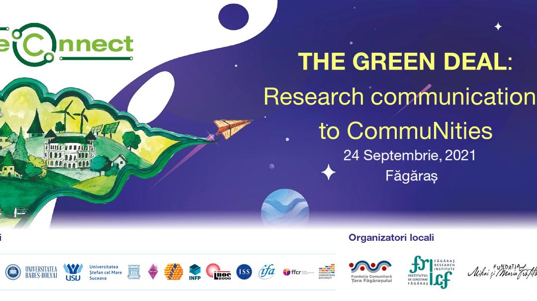 Noaptea Cercetătorilor 2021 ajunge la Făgăraș!